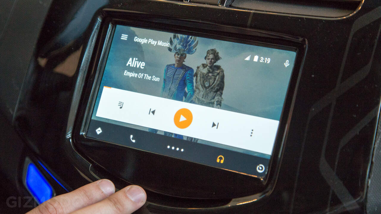 Android Auto Google Play Music